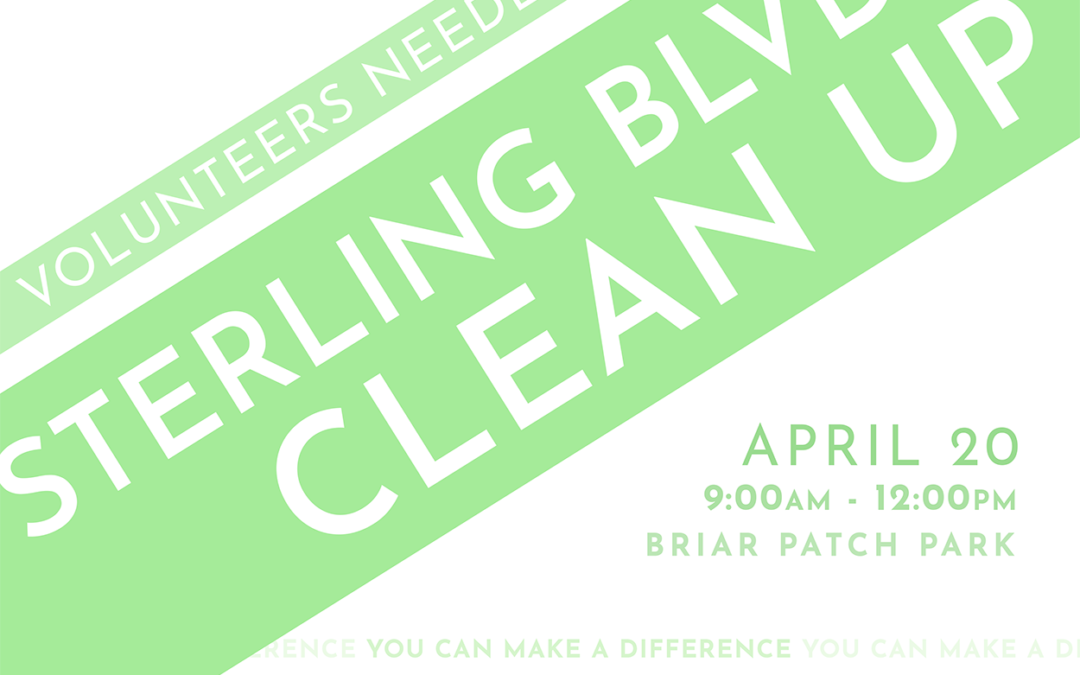 Sterling Blvd Clean Up