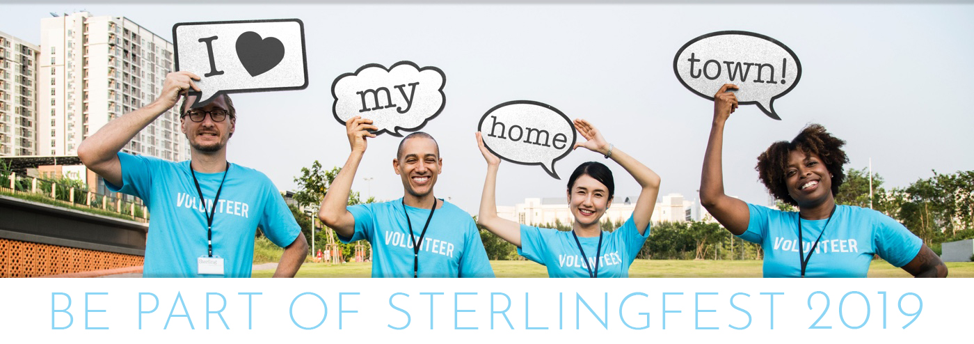 Be part of SterlingFest 2019