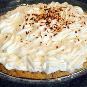 A Coconut Cream Meringue Pie from Mom's Apple Pies