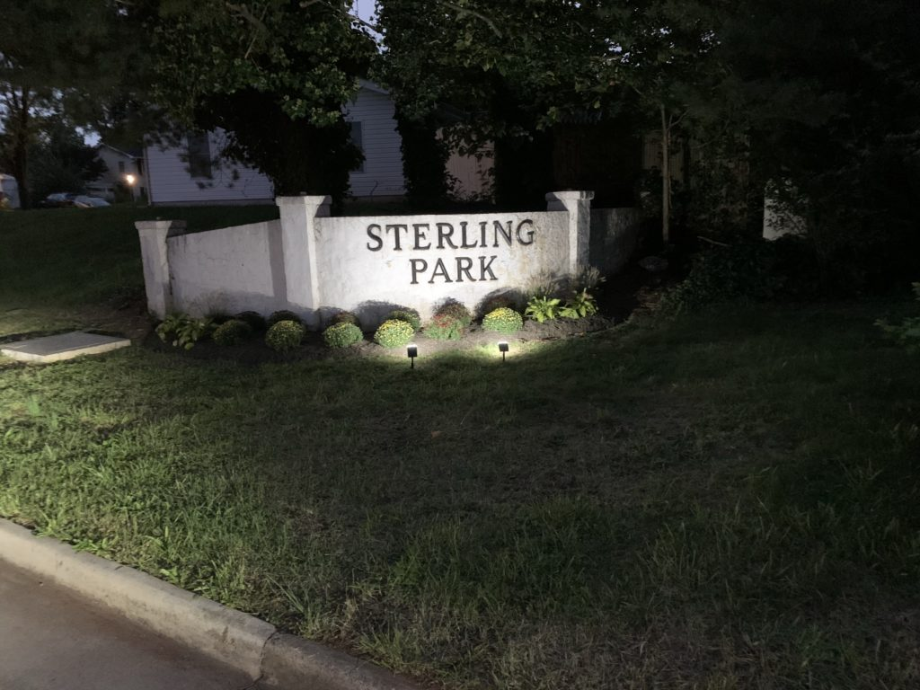 Sterling Park Monument Wall